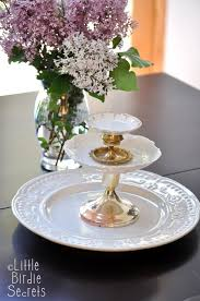 tiered serving stand how to make a temporary tiered serving plate make and takes