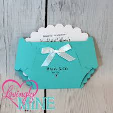 customizable baby u0026 co diaper shape invitations set of 10