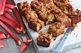 Halloween Crispy Cakes Soured Cream And Rhubarb Tea Cake Baking Recipes Tesco Real Food