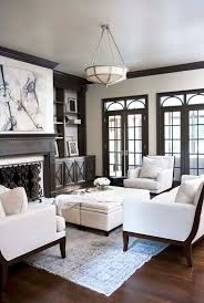 image result for black interior trim black woodwork pinterest