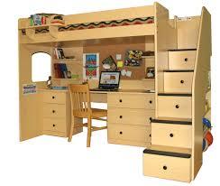 Pottery Barn Girls Desk Bedroom Mesmerizing Pottery Barn Loft Bed For Kids Bedroom