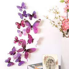 3d diy wall sticker stickers butterfly home decor room decorations