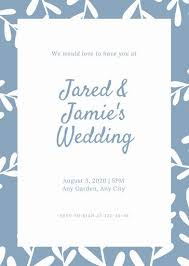 bridal invitation templates wedding invitation templates canva