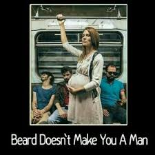 Pregnant Lady Meme - beards oga eddy