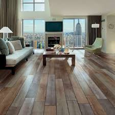 wood tile flooring in living room thesouvlakihouse com