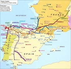Spain On A Map by