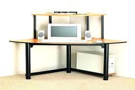 Corner Computer Desk With Shelves Fascinating Desk Shelf Ikea Desk With Shelves On Top Corner Desk
