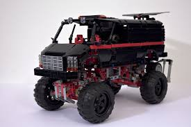 lego jurassic park jeep instructions lego kenworth 953 6x6 oil field truck by ingmar spijkhoven cars