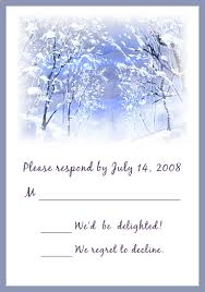 Cheap Wedding Invitations And Response Cards Cheap Romantic Snowy Scenery Winter Wedding Card Ewi093 As Low As