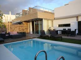 modern villa c6395 ultra modern villa with private heated pool fully