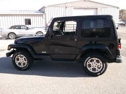 jeep car black larry allen motor car company inc
