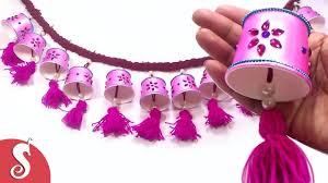 Pink Hanging Door Beads by Door Hanging Toran From Disposal Tea Glass For Door Decore