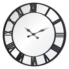 clocks metal wall clocks large large metal decorative clocks 36