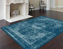 Blue Area Rugs Tayse Area Rugs Infinity Rugs Inf1014 Blue Infinity Rugs By