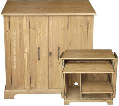 Small Pine Desk Solid Pine Desk Tri Folding Hideaway Workstation Desk Home
