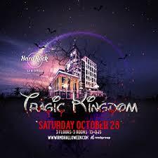 tragic kingdom halloween 2017 tickets hard rock hotel san