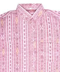 Pink Colour by Buy Handloom Readymade Sambalpuri Cotton Shirt In W Gocoop