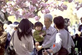 family garden brooklyn brooklyn new york april 30 a japanese family attends the