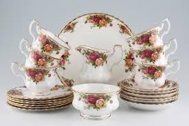 country roses tea set royal albert country roses 21 tea set in wollaton