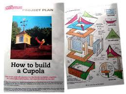Build Your Own Cupola The Cupola U2013 House Farm U0026 Garden