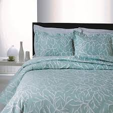 Teal Coverlet Concierge Collection Elements Coral Glory Coverlet 10076175 Hsn