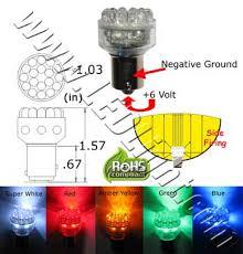 Led Auto Lights S25 24 Led Light 6 Vdc Automotive Led Lights Ledlight