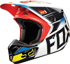 motocross helmet goggles 190 68 fox racing v2 race mx helmet 199172