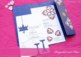 Modern Indian Wedding Invitations Modern Wedding Cards U0026 Stationery By 3 Bees Paperie Myshaadi In