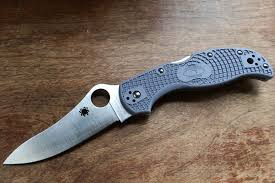 spyderco super blue review thread spyderco forums