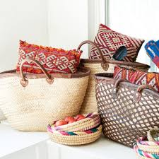 morocco s magic hits the galleria with the opening of a new pop up earthbound trading co was inspired by the stunning vibrant textiles of morocco