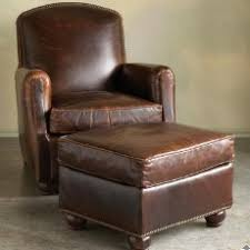 Ottoman Armchair Sofa Appealing Leather Armchair And Ottoman Armchairs Accent