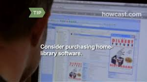 How To Organize A Home Office How To Organize A Home Library Youtube