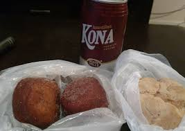 saved my malasadas puff for thanksgiving day got some iced