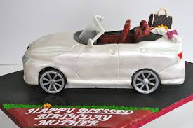 convertible lexus celebrate with cake lexus convertible car cake