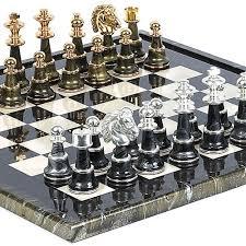 unique chess sets for sale bello games collezioni mancini luxury chess set 24k gold silver