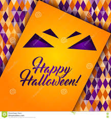halloween colors background halloween patterned greeting card stock vector image 78768924