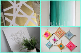 Cool Diy Wall Art interior new wall decoration ideas diy room art easy diy wall