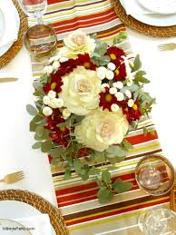 easy diy autumnal floral centerpiece party ideas party printables