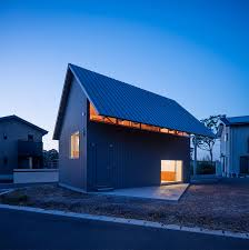 small house in small japanese house really is all about eaves treehugger