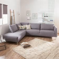 canapé tissu déhoussable canapé d angle en tissu dossier déhoussable olympe au salon