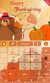 thanksgiving go keyboard theme android apps on play