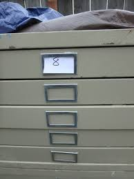 Map Drawers Cabinet Lot Detail 5 Drawer Safco Map Blueprint Flat File Cabinet