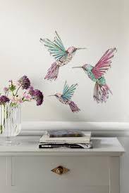 15 best diy wall designs images on pinterest diy wall wall buy hummingbird wall sticker from the next uk online shop