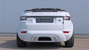 range rover evoque back dub magazine hamann range rover evoque convertible