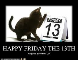 Funny Friday The 13th Memes - happy friday the 13th lolcats funny pictures of cats i can