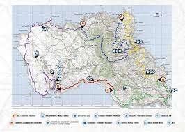 Azores Map Island Trek In The Azores Prime Passages