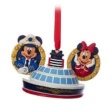 your wdw store disney cruise line ornament captain mickey