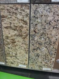 possible kitchen granite santa cecilia or new venetian gold
