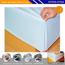 Dust Mite Crib Mattress Cover Anti Bacterial Anti Dust Mite Waterproof Mattress Cover Mattress