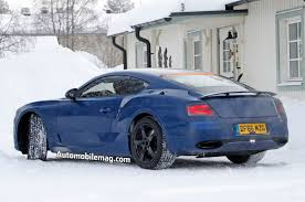 bentley supercar 2017 next gen bentley continental gt spied during winter testing